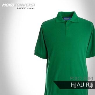 Kaos Seragam Kantor Desain Kaos Polo Shirt polos warna hijau fuji