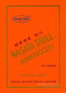 Cover Katalog Warna Bahan Kain Nagata Japan Drill Bahan Kain Drill Untuk Pembuatan Kemeja Kerja Pria Wanita