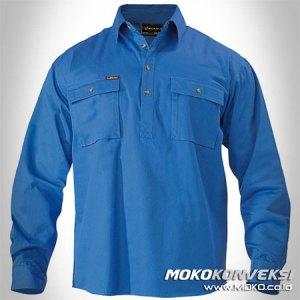 jual wearpack kerja, baju mekanik bengkel, baju kerja lapangan, pemesanan baju online di moko.co.id
