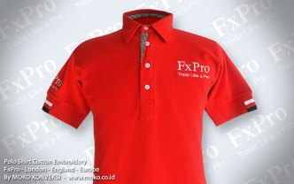 desain terbaru kaos polo shirt FxPro