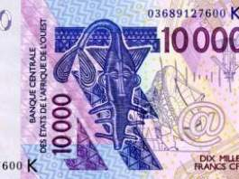 cefa to naira exchange rate today