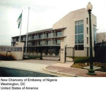 Nigerian embassy in Washington