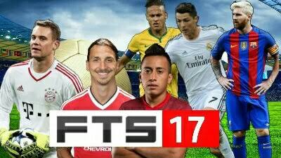 FTS 17 Mod Apk + OBB Data Download (First Touch Soccer 2017