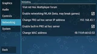 Pes ppsspp multiplayer settings