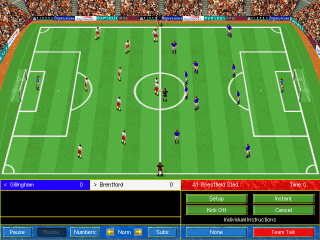 Soccer Manager gameplay