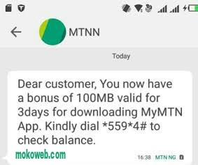 How to Download MyMTN App & Get Free 500MB/100MB Data Instantly
