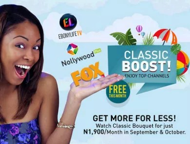 Price of startimes classic bouquet