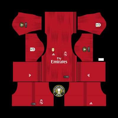 Real Madrid dls 19 kit