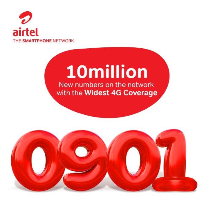 0901 airtel number