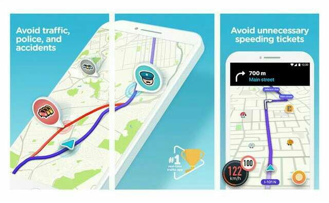 Waze Offline Map app