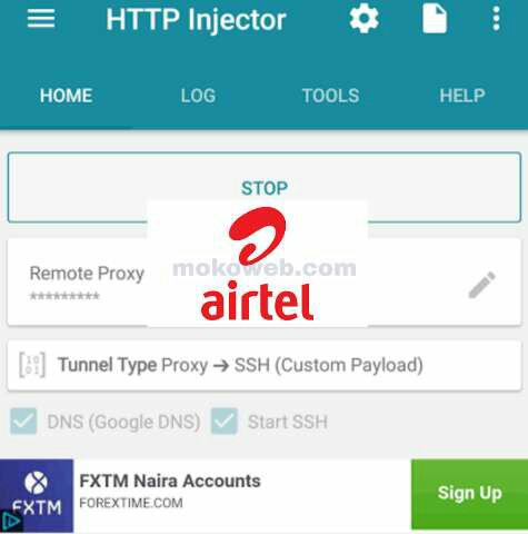 Latest Airtel Free Browsing Cheat for September 2019 Using
