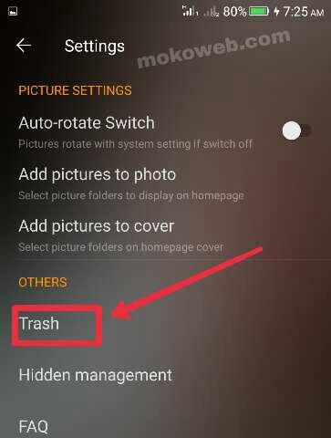 Phone Trash bin