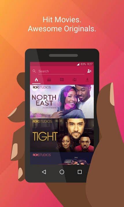 Download irokotv app