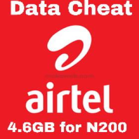 Airtel data cheat