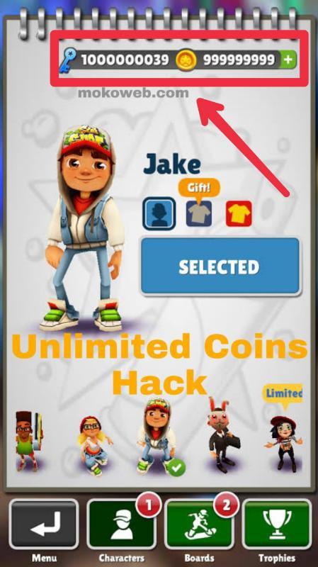 Subway Surfers v2.8.0 Mod (Unlimited Money) Apk - Android