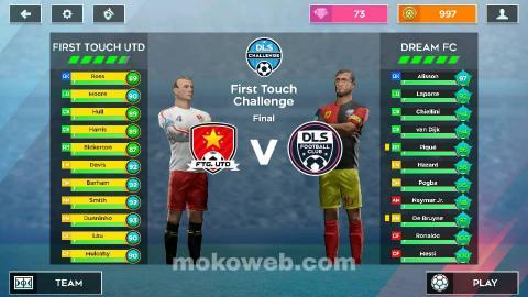 DLS 2020 teams