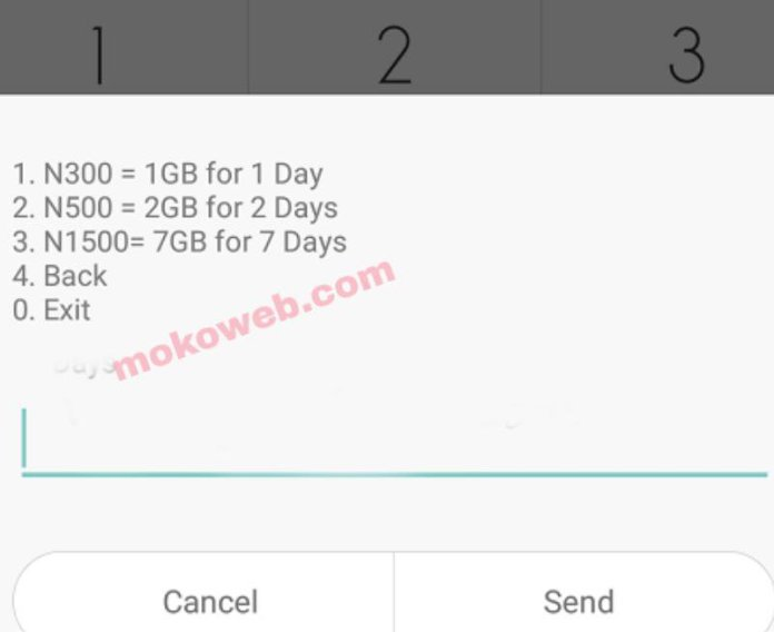 Glo 7gb for n1500 data plan