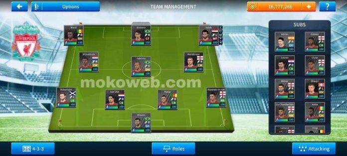 Liverpool team save data dream league soccer