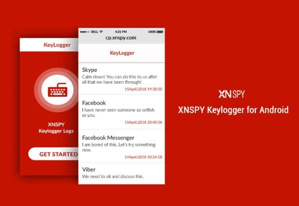 xnspy keylogger
