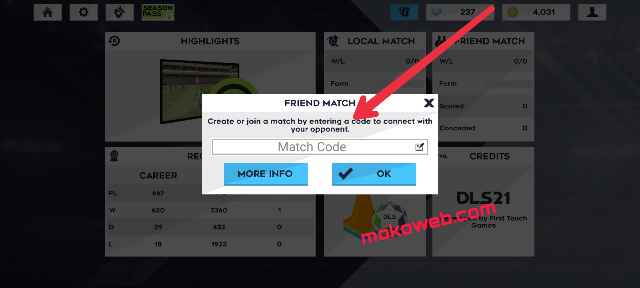 match connection