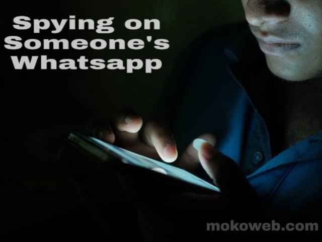 Spy on another person's Whatsapp