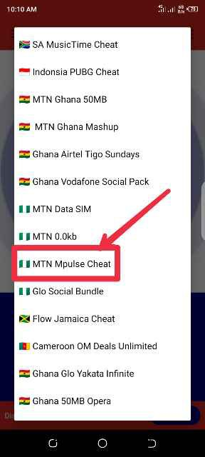 MTN MPulse free browsing cheat