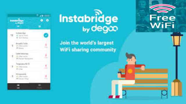Instabridge free wifi passwords