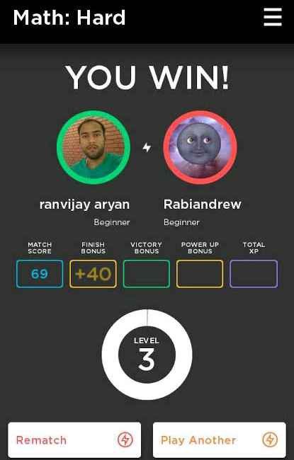 Quizup game