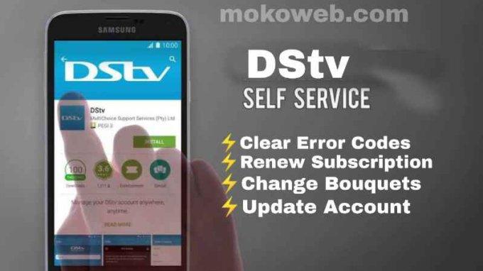 Dstv self service
