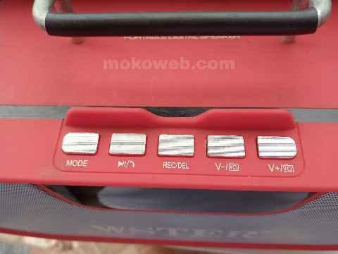 WS 1836 controls