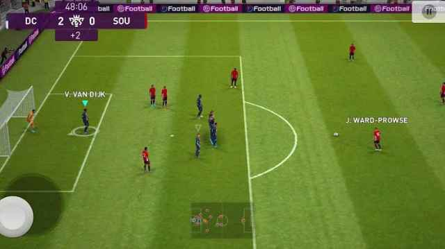 Pro Evolution Soccer 2022 gameplay