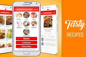 Tasty Recipes cooking app for android