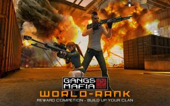 gang war mafia shooting game