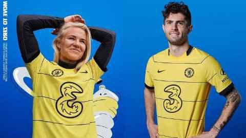 Chelsea away kit 22