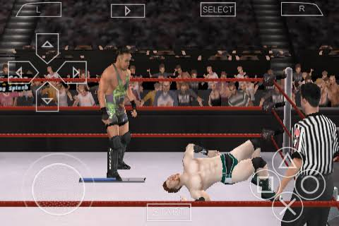 Raw SmackDown 2011 PPSSPP