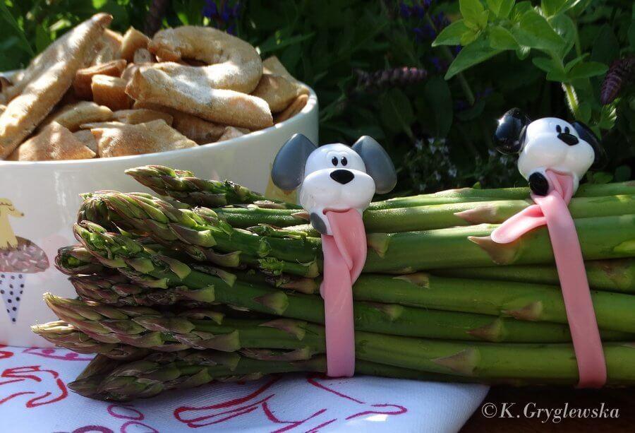 szparagi w diecie psa
