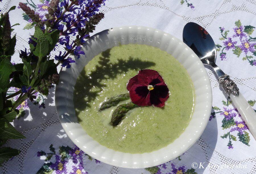 zupa krem ze szparagow