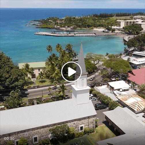 Kona aerial video