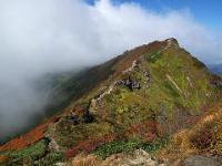 谷川岳トマの耳付近