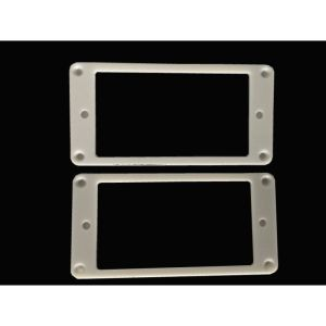 (Bass)guitar set humbucker ring white