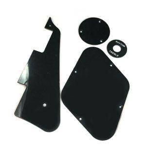 Les Paul pickguard/ toggle switch/ backplate black set