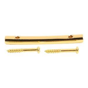 Guitar string retainer tension bar 45mm gold