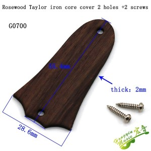 Trussrod cover rosewood Taylor style