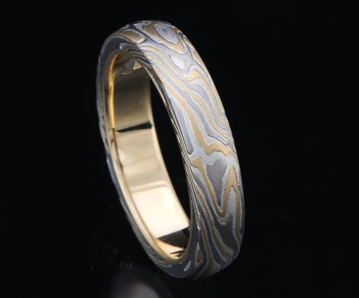 yellow-white-gold-wedding-band