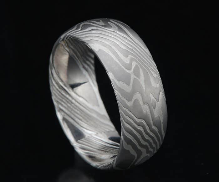 mens palladium wedding ring
