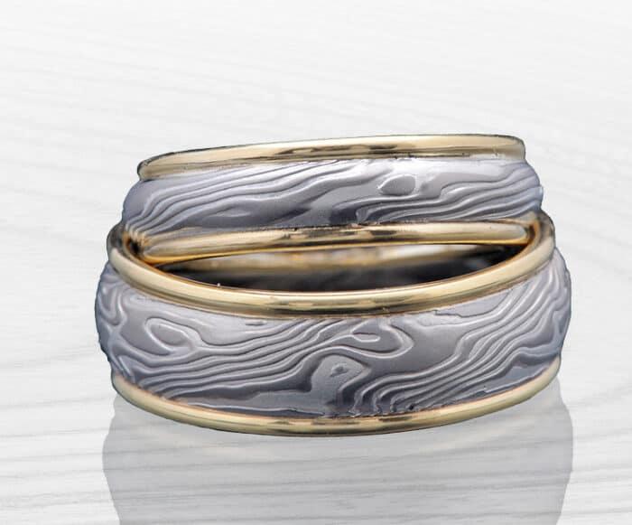 unique matching palladium rings