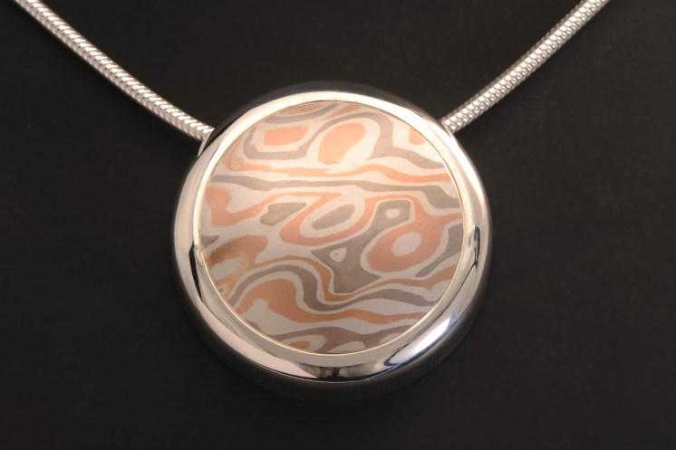custom circle pendant