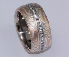 GOLD MOKUME CHANNEL DIAMOND