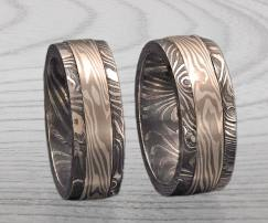 PALLADIUM and BLACKENED DAMASCUS SET