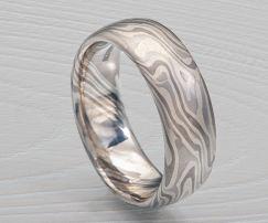 mens unique platinum wedding ring